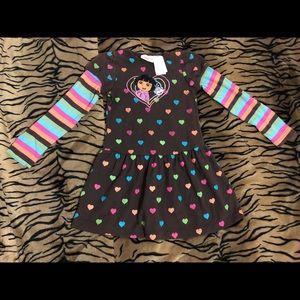 Dora the explorer dress size 6
